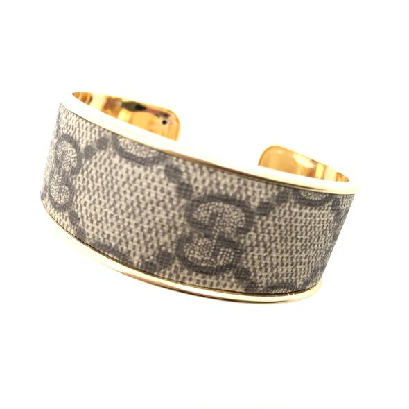 Repurposed Gucci Cuff Bracelet