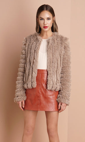 Natalia Faux Fur Coat