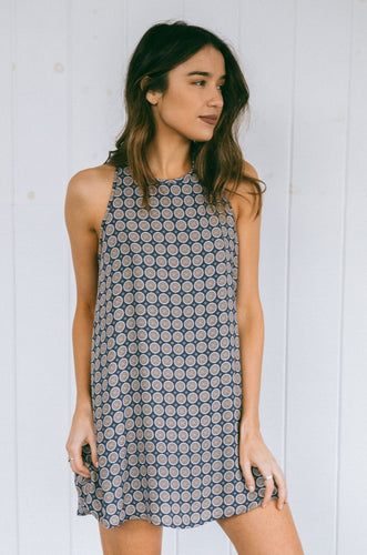 Mosaic Swing Dress