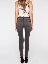 Robbie High Waist Release Ankle Jean - Gray
