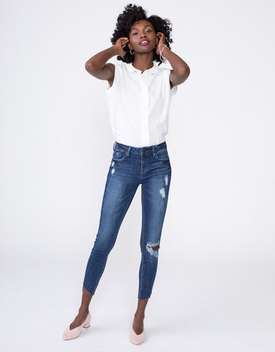Kora Mid Rise Skinny Jean - Beloved