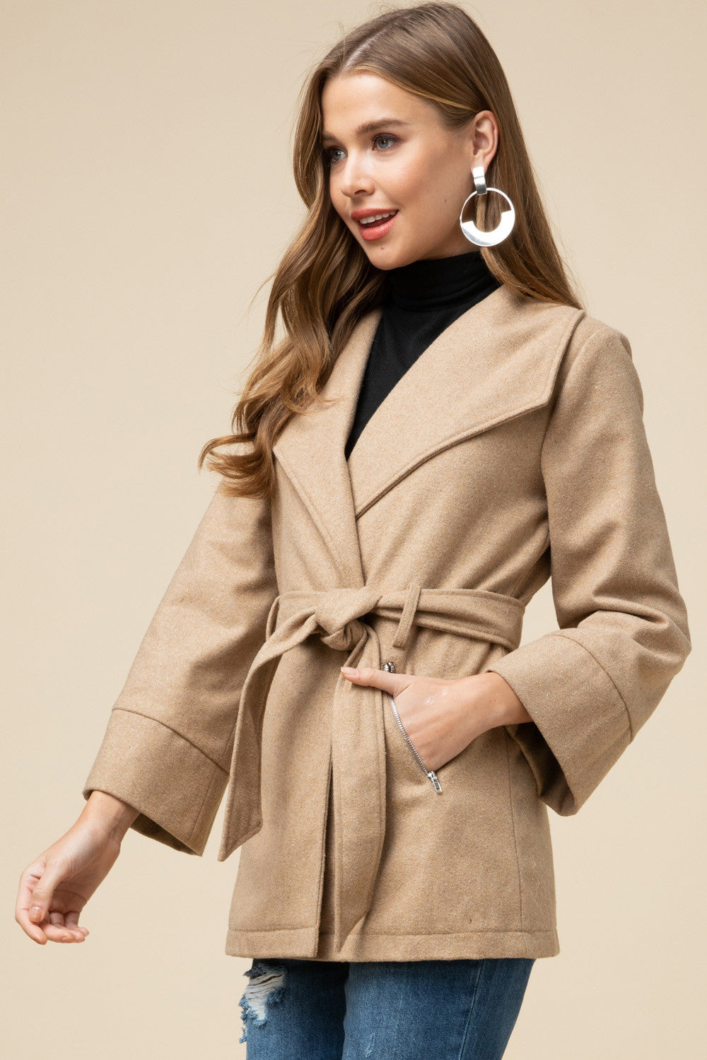 Kimi Shawl Collar Coat