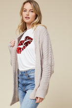 Shaunti Cozy Open Front Cardigan