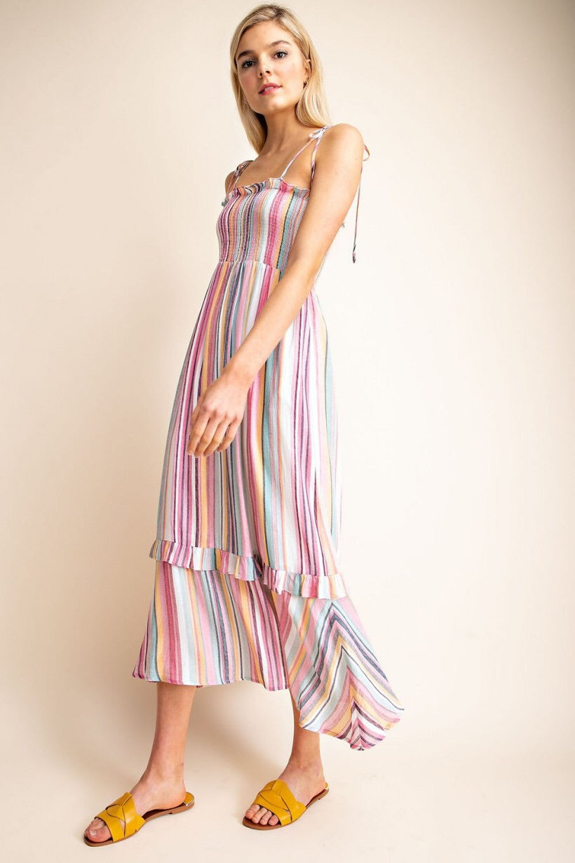 Peyton Striped Maxi Dress
