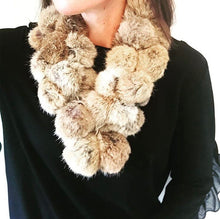Rabbit Fur Necklace Scarf (More Colors)
