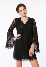 CROSBY by Mollie Burch Haley Dress - Black Lace