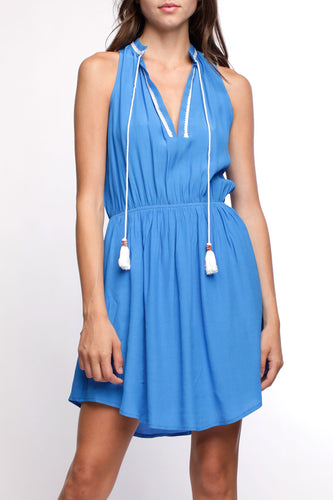 Iglesia Contrast Stitch Dress