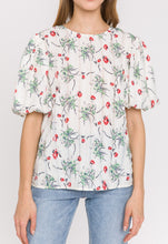 Faithful Floral Print Blouse