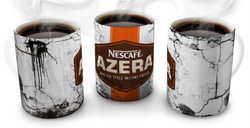 Nescafe Azera Vintage Distressed Retro Cool Mug