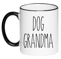 Dog Grandma Farmhouse Coffee Cup, Farmhouse Decor, Hot Chocolate, 11 Ounce Ceramic Mug