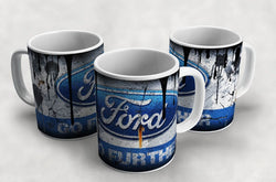 Ford Vintage Distressed Retro Cool Mug