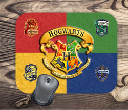 Harry Potter Inspired - Hogwarts - Mouse Pad