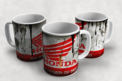 Honda Vintage Distressed Retro Cool Mug