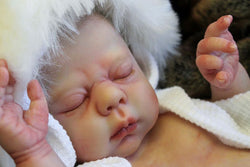 "Jacelyn by Donna RuBert 20"" Unpainted Reborn Doll Kit"