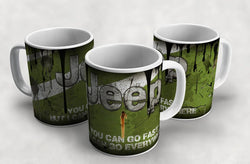 Jeep Vintage Distressed Retro Cool Mug