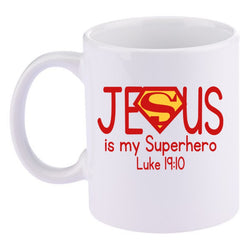 Jesus is my Superhero 11 oz. Coffee Mug