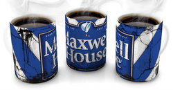Maxwell House Vintage Distressed Retro Cool Mug