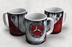 Mercedes Vintage Distressed Retro Cool Mug