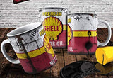 Shell Motor Oil Vintage Distressed Retro Cool Mug