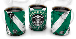 Starbucks Vintage Distressed Retro Cool Mug