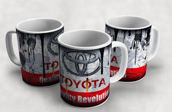 Toyota Vintage Distressed Retro Cool Mug