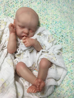 "Twin A by Bonnie Brown - Twin A 17"" Preemie 7/8 Arms and Full Legs"