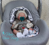 "Twin A by Bonnie Brown - 17"" Preemie 7/8 Arms and Full Legs - Custom Made to Order"