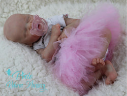 "Twin A by Bonnie Brown - Custom Made to Order Twin A 17"" preemie with Certificate of Authenticity"