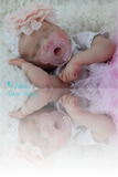 "Twin B by Bonnie Brown - Custom Made to Order Twin B 17"" preemie with Certificate of Authenticity"