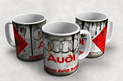 Audi Vintage Distressed Retro Cool Mug