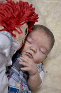 "Avery by Denise Pratt 20"" Unpainted Reborn Doll Kit"