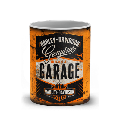 Harley Davidson Vintage Distressed Retro Cool Mug