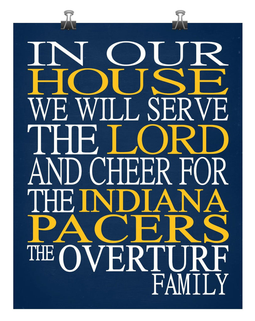 In Our House We Will Serve The Lord And Cheer For The
