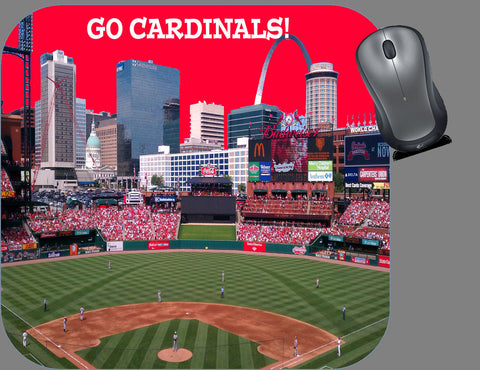 Go Cardinals Mouse Pad