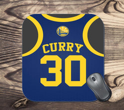 Golden State Warriors Curry Jersey Mouse Pad