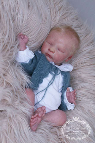 "Newborn Realborn® Joseph Asleep 18"" Unpainted Reborn Doll Kit"