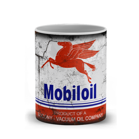 Coffee Mug - Mobil Oil