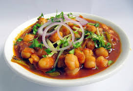 Chana Masala or Aloo Chole (Vegan)