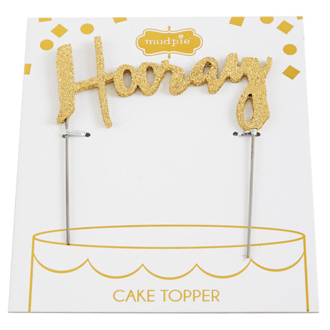 Hooray Cake Topper Shop Oh