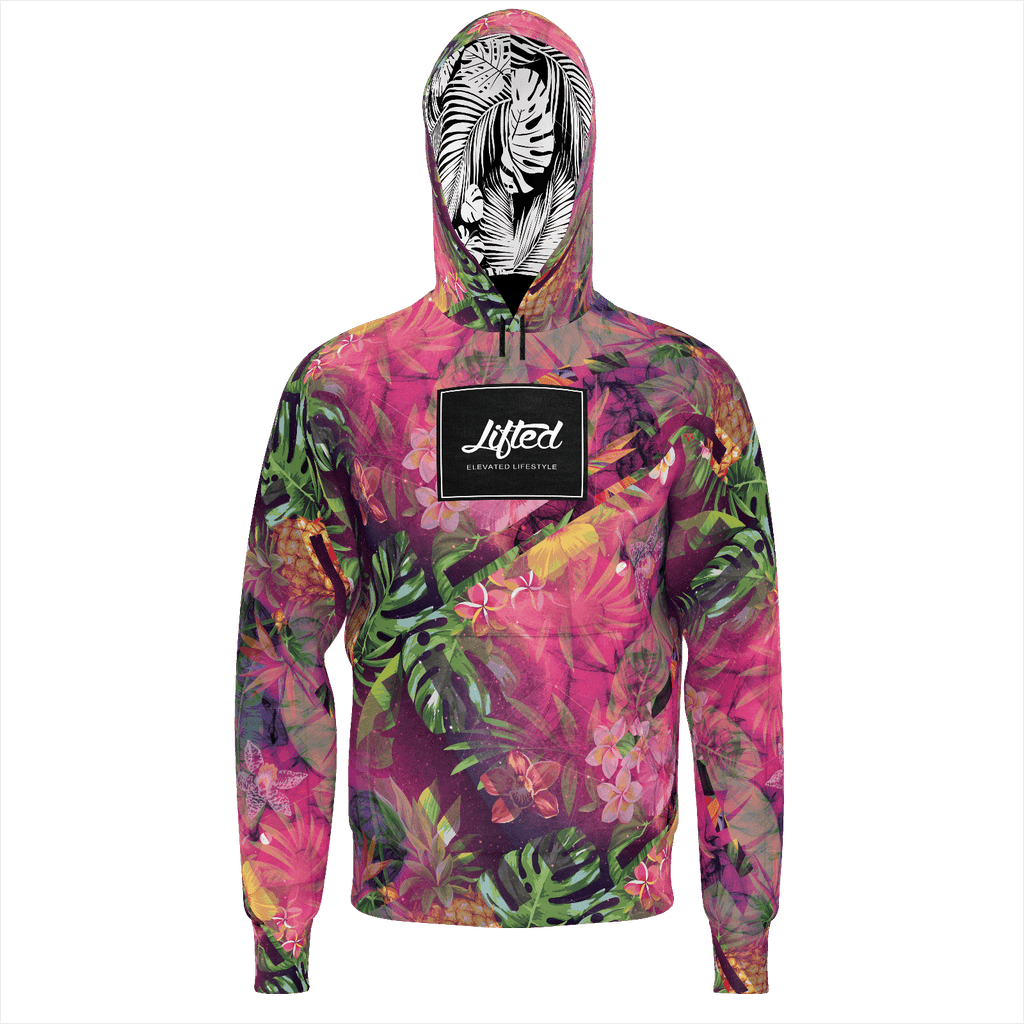 Lifted Galaxy Tropics Hoodie Summer 18'