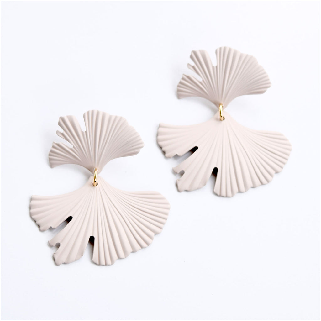 Cream Gingko Leaf