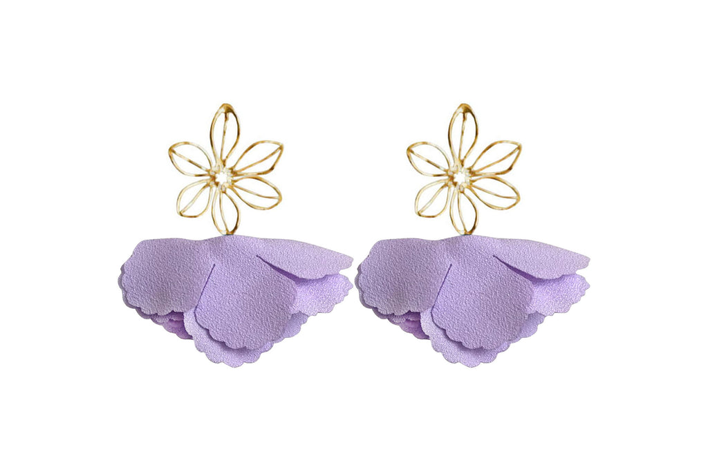 lilac wire flower flutter