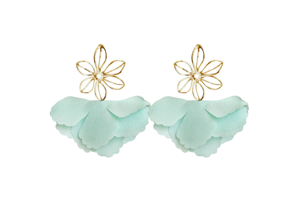 mint wire flower flutter