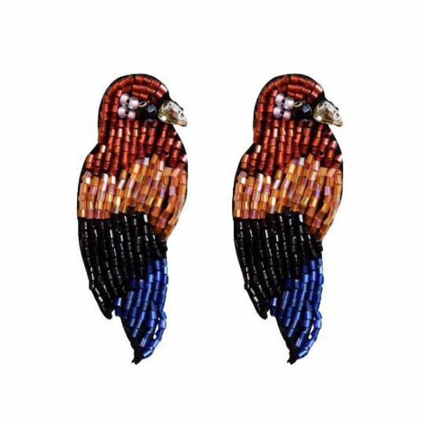 Fancy beaded Parrot