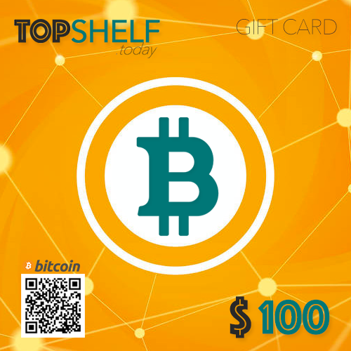 9952a006a5  100 BitCoin GIFT CARD - The perfect gift for Christmas! – TOPSHELF ...