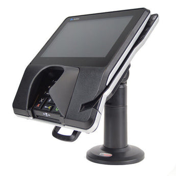"Swivel Stand for Verifone M400 and M440 Terminal Stand - WITH KEY - Complete Kit - 7"" Tall Stand - HILIPRO.COM"