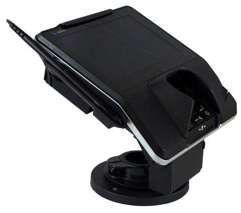 Metal Stand for Verifone MX915 - Locking with Port Blocking and Anti-Skimming