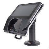 SWIVEL STAND FOR VERIFONE MX915/925 TERMINAL FIRST BASE - COMPLETE KIT WITH KEY AND LOCK