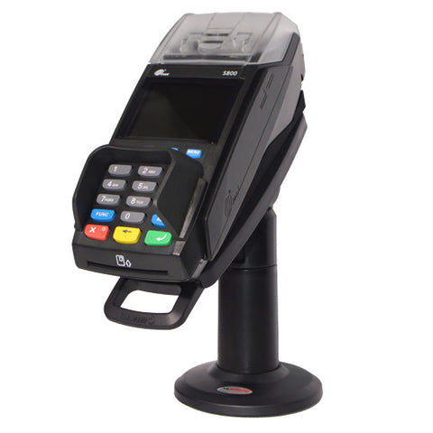 "Swivel Stand for PAX S800 FIRSTBASE 7"" TALL COMPLETE KIT WITH KEY AND LOCK - HILIPRO.COM"