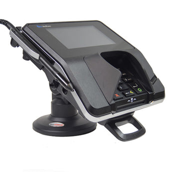 COMPACT STAND FOR VERIFONE MX915/925 TERMINAL COMPACT - COMPLETE KIT WITH KEY AND LOCK - HILIPRO.COM